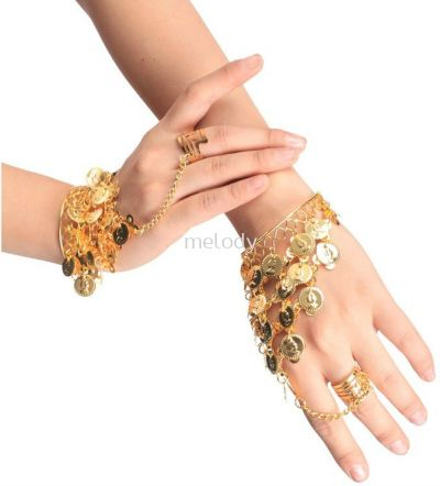 Arabian-Belly Dance Coin Bracelet - 7003 0301