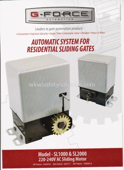 SLIDING AUTO GATE SYSTEM