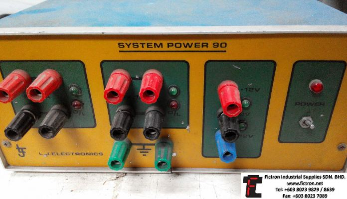 Repair Service in Malaysia - SYSTEM POWER 90 L.J. ELECTRONICS Power Supply Singapore Indonesia