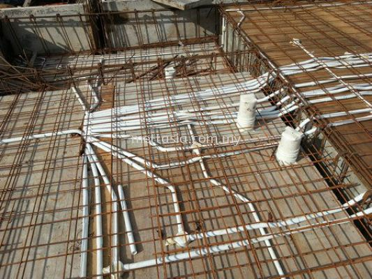 Electrical wiring conduit works