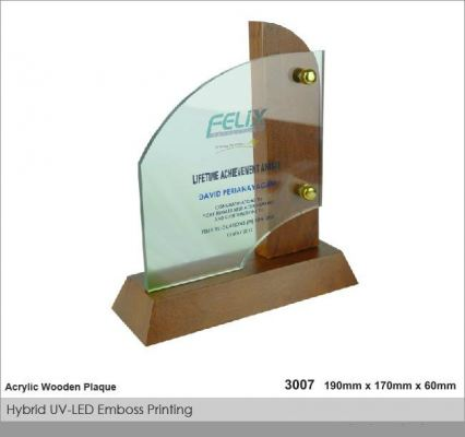 Crystal Plaque / Awards (CT36)
