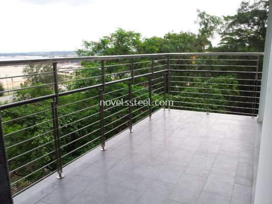 Stainless Steel Balcony 006
