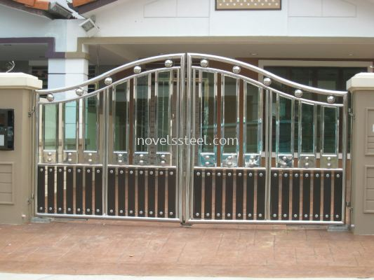 Stainless Steel main gate 075