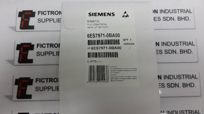 6ES7971-0BA00 6ES79710BA00 Siemens Simatic Back-Up Battery Malaysia Singapore Thailand Indonesia