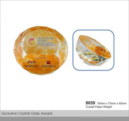 Crystal Paper Weight (CT17)