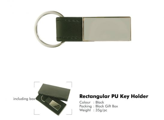 RECTANGULAR PU KEY HOLDER KS-103