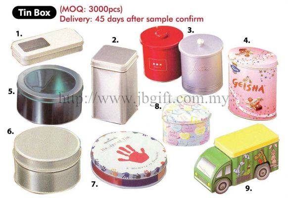 TIN BOX (MAKE TO ORDER)
