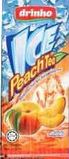 Drinho Ice Peach Tea 250 ml