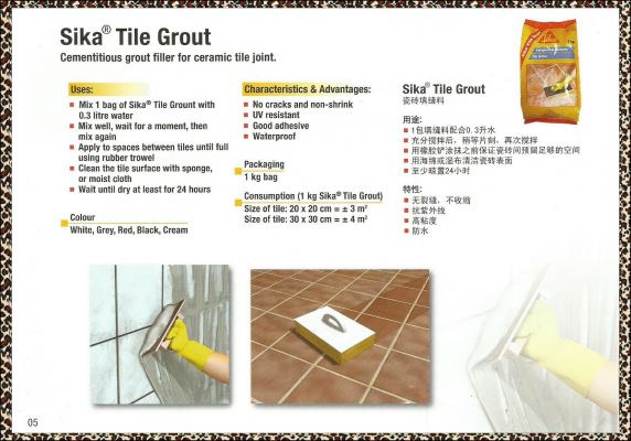 SIKA TILE GROUT