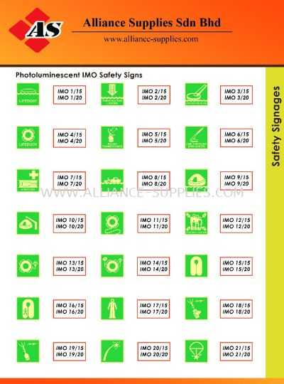 15.13.12 Safety Signages