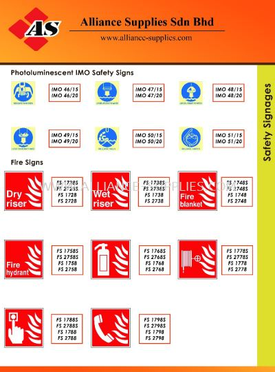 15.13.14 Safety Signages