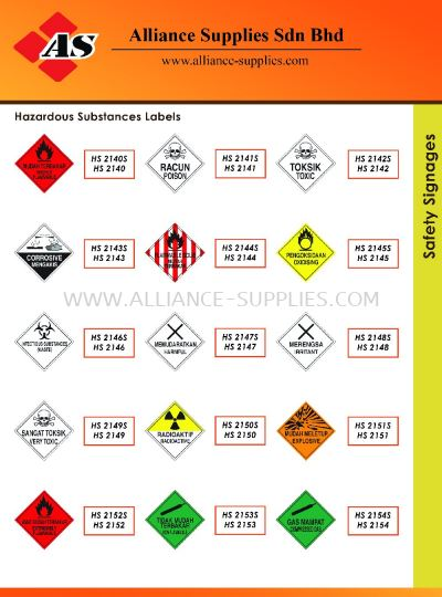 15.13.17 Safety Signages