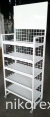 20394-1780HX650LX360MMDX5LAYER DISPLAY RACK Floor Stand CUSTOM MADE
