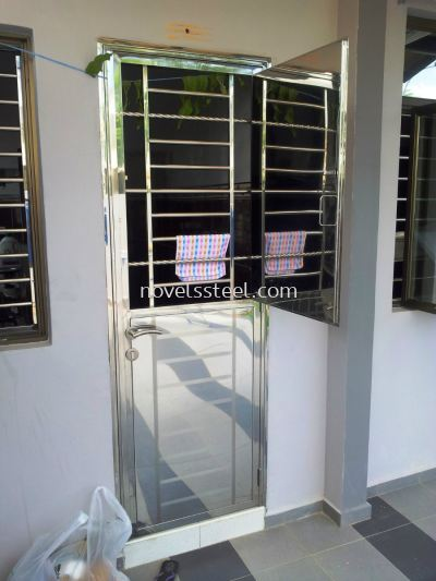 Stainless Steel 2in1 door 006