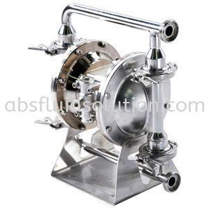 EHEDG Hygienic Diaphragm Pump Diaphragm Pump Sanitary Flow Equipment Selangor, Malaysia, Penang, Johor Bahru (JB), Shah Alam Supplier, Service, Suppliers, Supplies | ABS Engineering & Trading Sdn Bhd