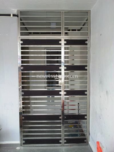 Stainless Steel Double door 025