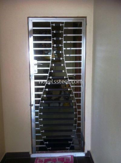 Stainless Steel Single door 021