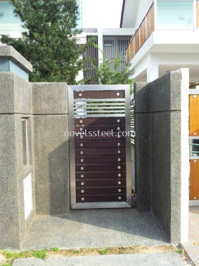 Stainless Steel Main single gate door 010