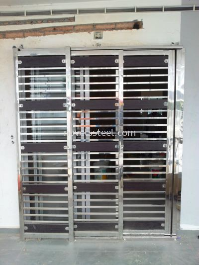 Stainless Steel Sliding door 019
