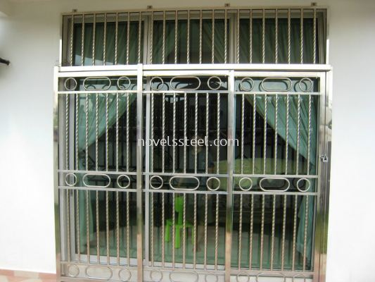 Stainless Steel Sliding door 021