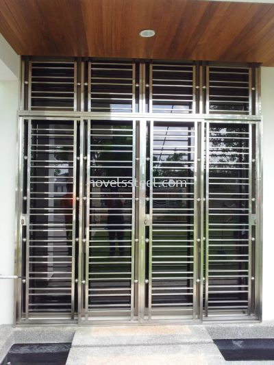 Stainless Steel Sliding door 015