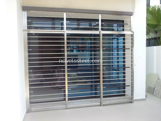 Stainless Steel Sliding door 016