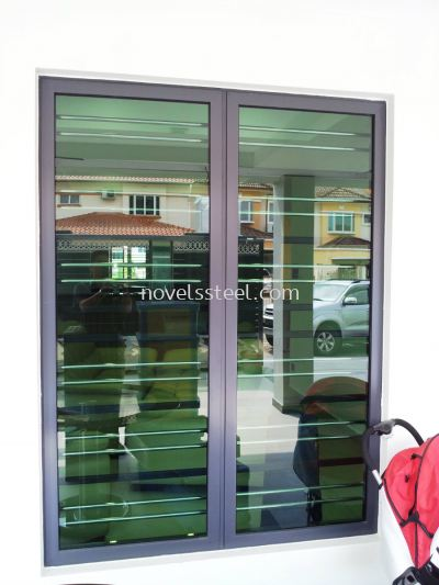 Stainless Steel Window grille 018