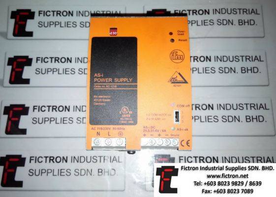 Repair Service in Malaysia - IFM ELECTRONIC AS-interface 42101 AC 1218 Power Supply Singapore