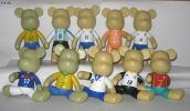 Popobe S0002 5 inch Popobe Set Popobe Bear