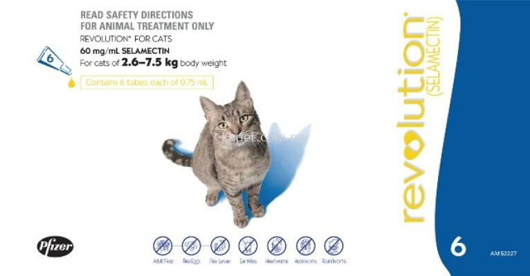 Revolution Flea Treatment For Cat
