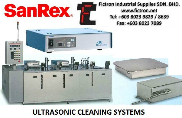 TE028067 Vibrator SANREX Ultrasonic Cleaning Equiment Malaysia Singapore Thailand Indonesia SANREX Cleaning Systems