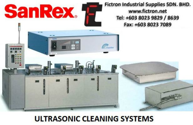 TE028121  Vibrator SANREX Ultrasonic Cleaning Equiment Malaysia Singapore Thailand Indonesia