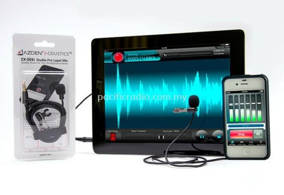 Azden EX-503i Studio Pro Lapel Microphone