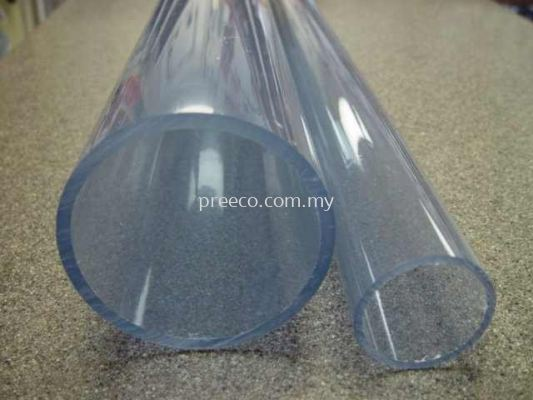 Transparent PVC Pipe (Sch40)