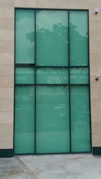 ALUMINIUM CURTAIN WALL 1
