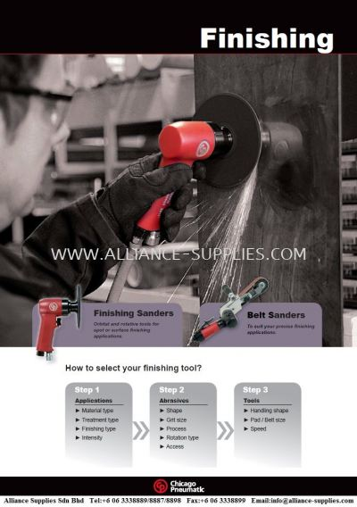 Chicago Pneumatic - CP Finishing Tool- Sander & Polisher