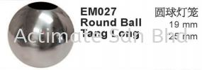 Round Ball Tang Long Ball Capping Stainless Steel Accessories