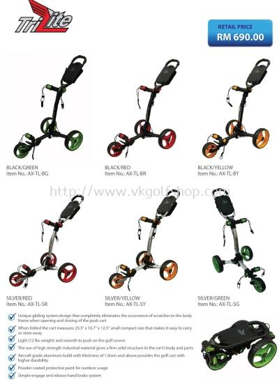 Trilite Golf Buggy Cart