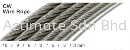CW Wire Rope Part Stainless Steel Accessories