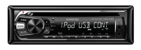 Kenwood KDC-U359W iPod / USB / CD Single DIN Receiver CD Player Car Audio System