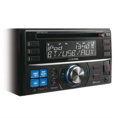Alpine CDE-W235EBT 2-DIN CD Receiver with Advanced Bluetooth / USB and Nokia / iPod / iPhone Controller