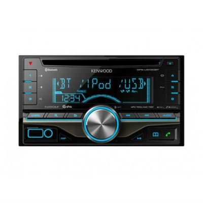Kenwood DPX-U5130BT Bluetooth Built-in Dual DIN CD Receiver iPhone / iPod Control
