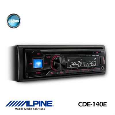 Alpine CDE-140E CD RECEIVER / USB