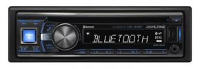 Alpine CDE-133EBT Advanced Bluetooth CD Receiver CD Player Car Audio System