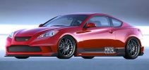 HKS Hyundai Genesis Coupe Bodykit Car Accessories