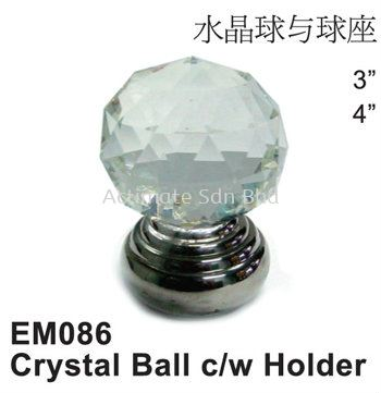 Crystal Ball c/w Holder