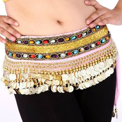 Arabian Belly Dance Hip Scarf  - 1020 0104