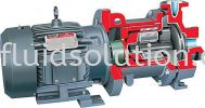 PolyChem M-Series Fluoropolymer Lined, Magnetic Drive, Overhung ASME Chemical Process Pump Engineered Polymer Composite Non-Metallic Pump  Centrifugal Pump 1