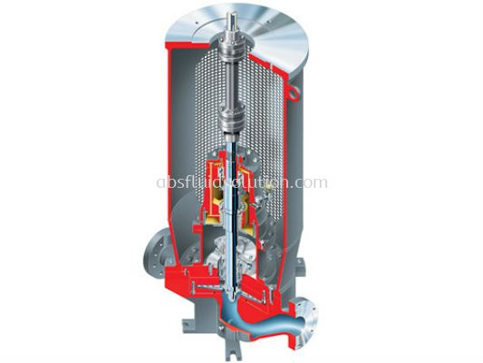 HWMA ISO 13709/API 610 (OH3) Vertical In-line, Low-Flow, High-Head Overhung API Process Pump