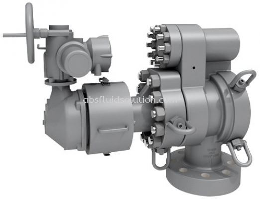 Hydraulic Decoking Systems Control Valve